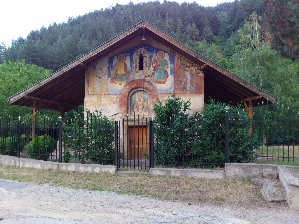 "Late-Medieval-Church-""St.-Nikola-the-Miracle-Maker""---village-of-Slokoshtitsa"